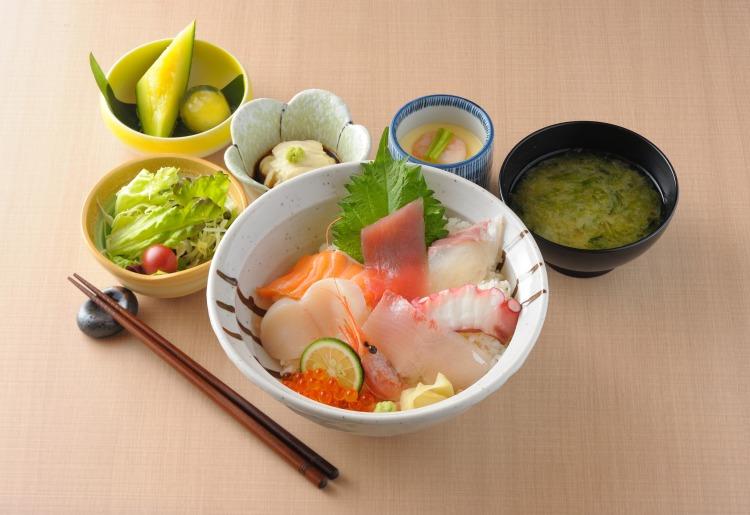 上海鮮丼定食